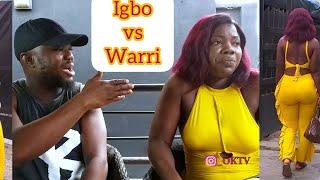 IGBO BABE vs WARRI GUY by KcBrown Kingsley Oghwe  with Mercy Johnson look alike ft Jennifer Opoke