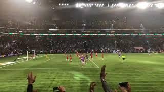 Zinedine Zidane Free kick Goal France 98 vs Fifa 98 (13/06/18)