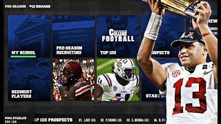 College Football Video Gaming Will Return Later This Year!