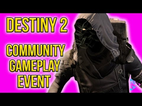 Destiny 2| Community Game Play Event | Join up subscribers!