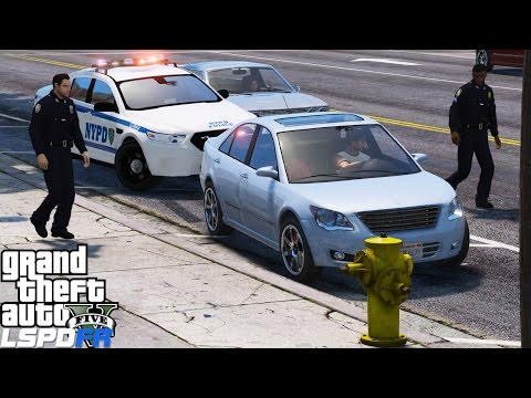 GTA 5 LSPDFR Police Mod 347 | New York Police Department | NYPD Sergeant High Level Arrest Warrant
