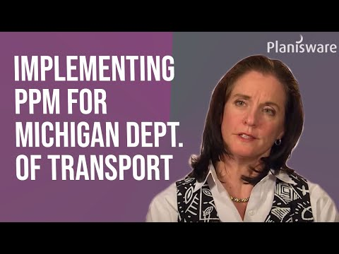 Implementing PPM for a Department of Transportation (DOT)