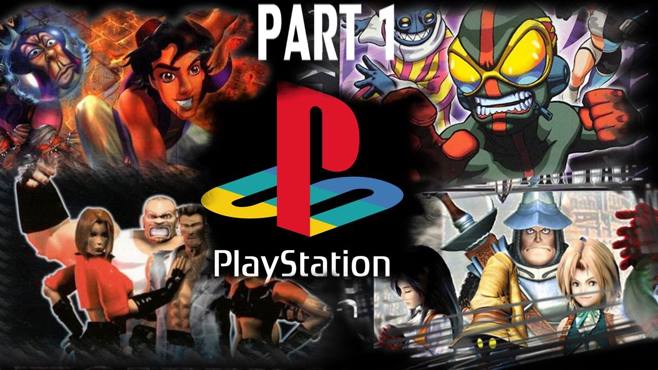 TOP PS1 GAMES  PART 1 of 9  OVER 150 GAMES     YouTube