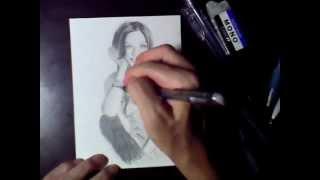 友人からのリクエストで 香里奈さんを描いて、 録画してみました。 しか...