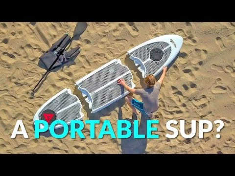 A SUP Paddle Board That You Can Take Anywhere