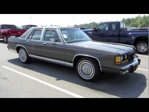 1990 ford ltd crown victoria start up, exhaust, in depth tour, and test  drive