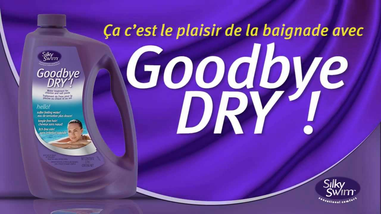 Goodbye dry traitement d 39 eau pour la piscine au chlore ou for Piscine au sel ou au chlore