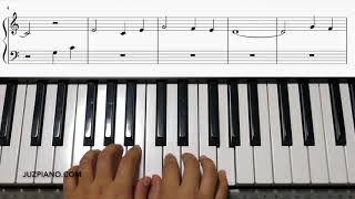 Red River Valley - Piano Lesson Made Easy Level 1 (With Score)