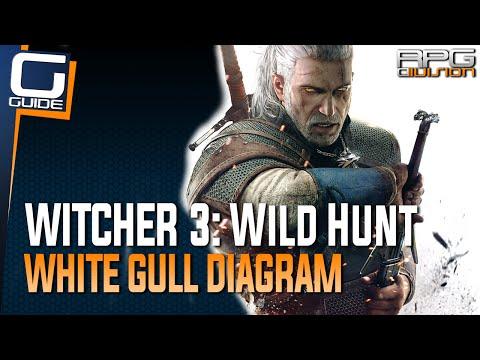 Witcher 3: The Wild Hunt - White Gull Diagram Location