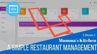 Simple Restaurant Management (Mamma