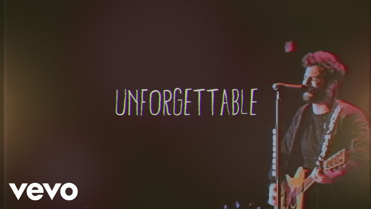Thomas Rhett Unforgettable Lyric Video Chords Chordify