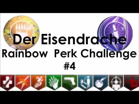 'Much Close!' - Rainbow Perk Challenge on Der Eisendrache #4