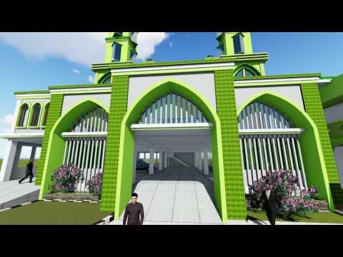 Jasa Desain Gambar Masjid by Evan Waryana