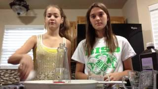 Elephant Toothpaste with Madison and Skylar