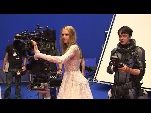 Valerian Ve Bin Gezegen İmparatorluğu(Valerian And The City Of A Thousand Planets)FİLMİ KAMERAARKASI