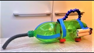 How To Make A Vacuum Cleaner Using Bottle On Battery