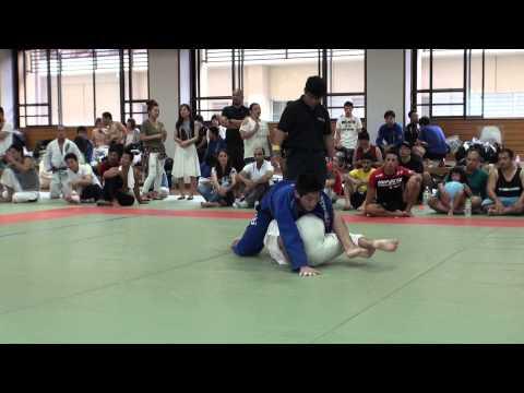 Maikano Tanaka vs 服部剛士 / Jiu Jitsu Priest CUP 2014 GIFU