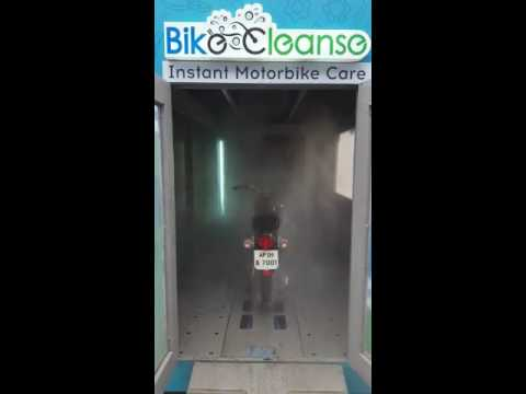 BikeCleanse Automatic Bike Wash @ Royal Enfield Service Centre