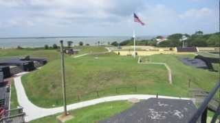 Fort Sumter and Fort Moultrie in Charleston, South Carolina