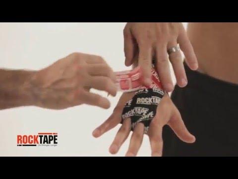 Как клеить тейп на кисть руки