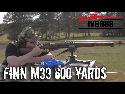 Finnish M39 600 Yard D166 Ammo Test