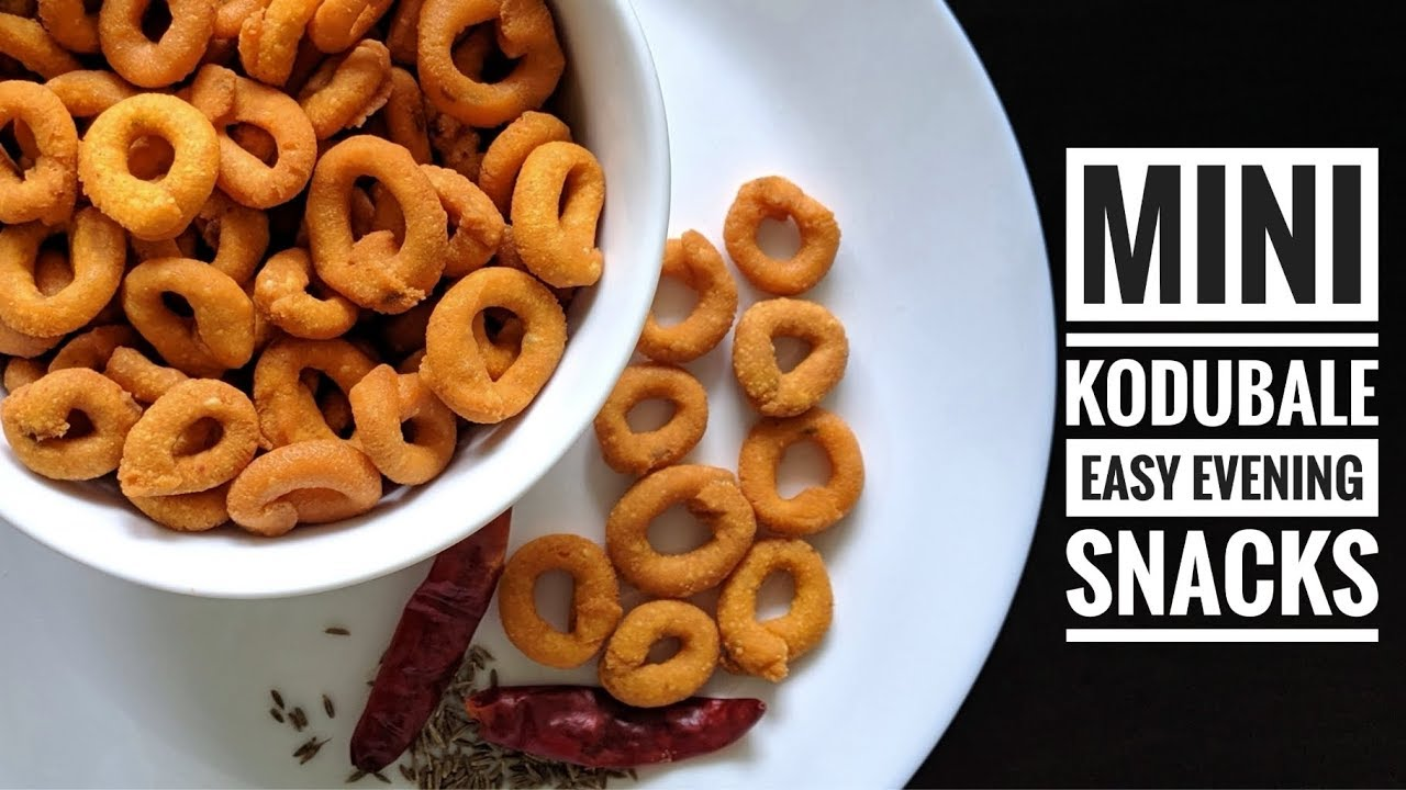Mini Kodubale | Spicy & Crispy Rings | Instant Crispy Kodubale | Evening Snacks