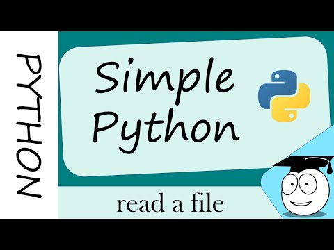 Python Coder | Simple | How to open | read a file