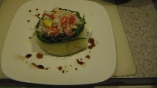 Crab Gazpacho Salad