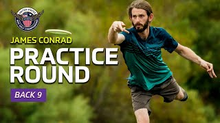 TAKING ON WINTHROP WITH USDGC CHAMPION JAMES CONRAD | Mic'd Up Practice Round Back 9