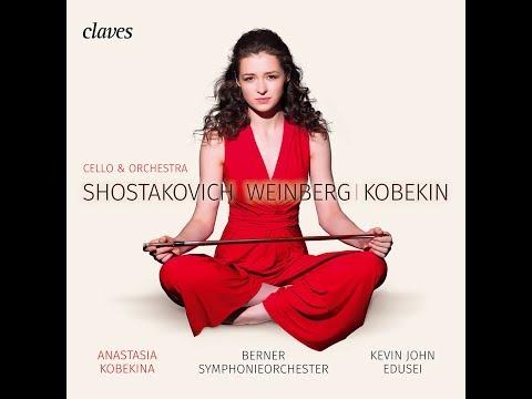 Anastasia Kobekina - Debut album, recording session teaser / Berner Symphonie Orchester