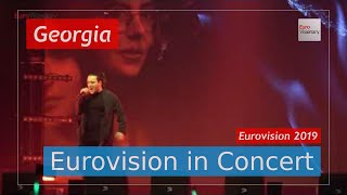 Georgia Eurovision 2019 Live: Oto Nemsadze - Keep on Going - Eurovision in Concert