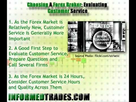 Choosing A Forex Broker Evaluating Customer Service Mp4