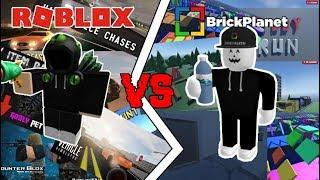 ROBLOX HQ VS Brick Planet HQ