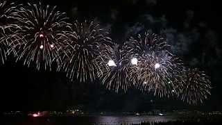 UAE National Day fireworks 2014, Dubai (JBR)