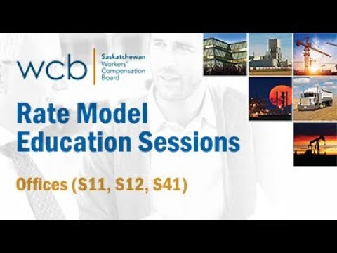 2018 Rate Model Education Sessions – Offices (S11, S12, S41)