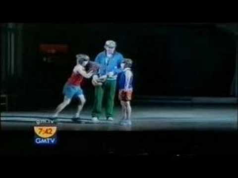 Liam mower & Elton John on GMTV