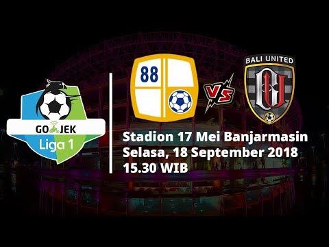Jadwal Pertandingan Liga 1 Indonesia Barito Putera Vs Bali United