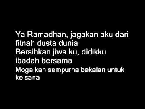 Doaku Ya Ramadhan - Encik Mimpi