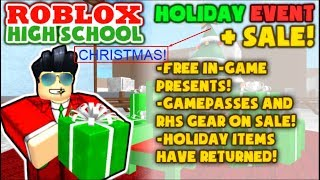 Roblox High School Christmas Movie (Act)