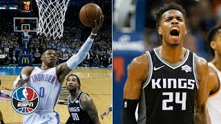 Russell Westbrook can't complete 4th-quarter comeback vs. Kings   NBA Highlights