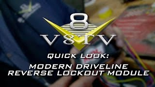 Quick Look:  Reverse Lockout Module from Modern Driveline