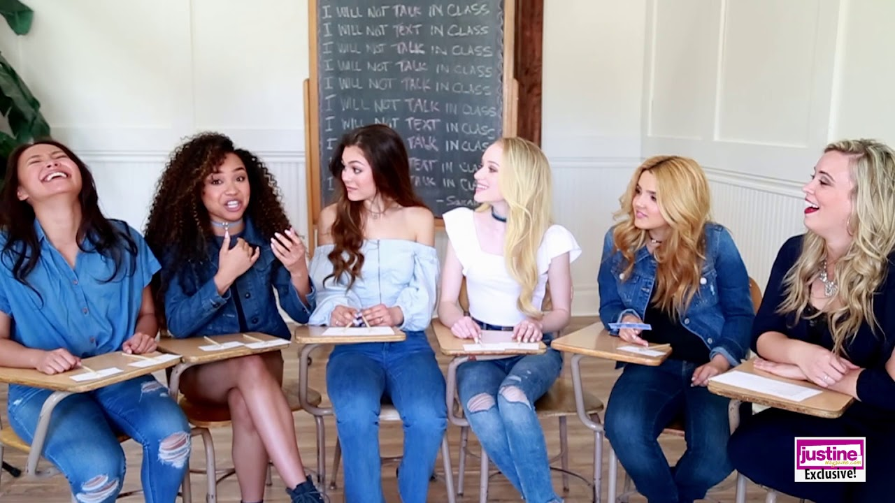 Justine Magazine Project Mc2 Cast Plays Have You Ever Game Youtube