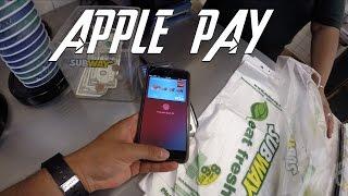 """Using Apple Pay The """"CORRECT"""" Way At Walgreens & Subway In 4K"""