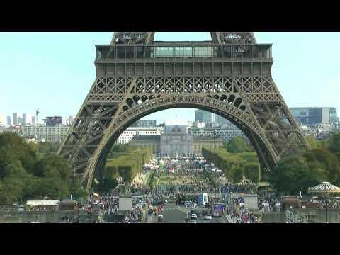 Paris France Place du Trocadéro Tour Eiffel