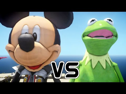 MICKEY MOUSE VS KERMIT THE FROG