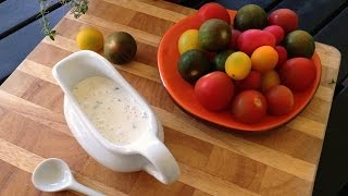 Dude! Ranch! - Homemade Buttermilk Ranch Dressing Recipe