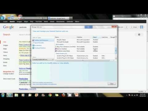 How To Disable And Enable Add Ons On Windows 7