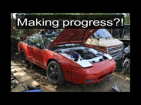 Slowly but surely making progress with my S15 SR20DET swapped S13 hatch