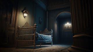 Das Kinderbett im SPUK HOTEL