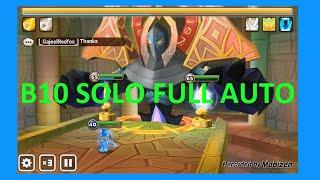 Solo Full Auto Hall of Magic B10 | Lumirecia | Summoners war